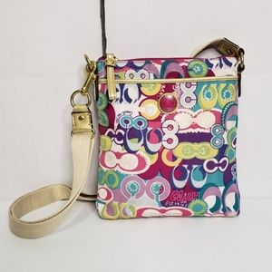 Coach Sis Poppy Pop C Swingpack Crossbody Bag